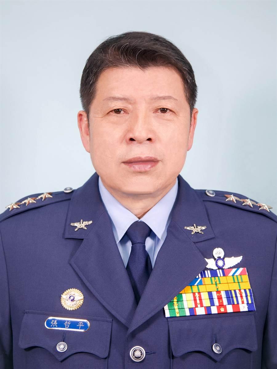 新任國防部軍政副部長張哲平。(圖/本報檔案照片)