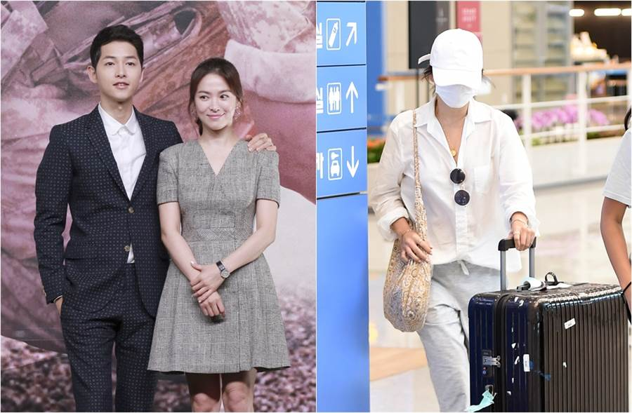 宋慧喬本月5日被目擊獨自從峇里島度假返回韓國。(圖/達志影像;取自《asiatoday》韓網)