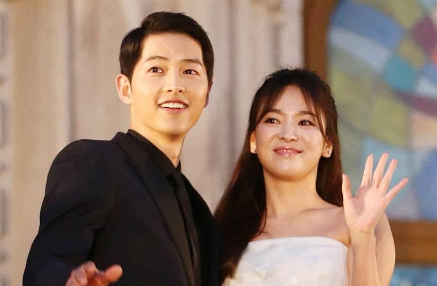 宋仲基、宋慧喬結束1年8個月的婚姻。(圖/達志影像)
