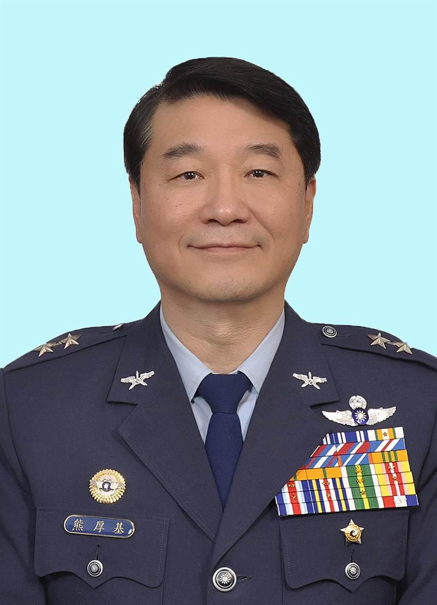 新任空軍司令熊厚基,是空軍配合國安會推動F-16V戰機案的要角。圖國防部提供