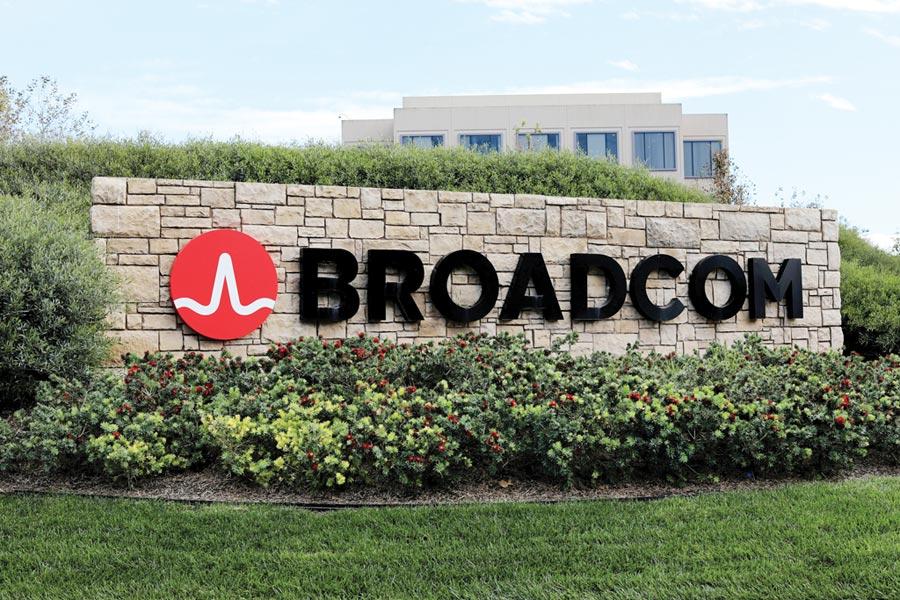 美國晶片製造商博通(Broadcom)圖/路透