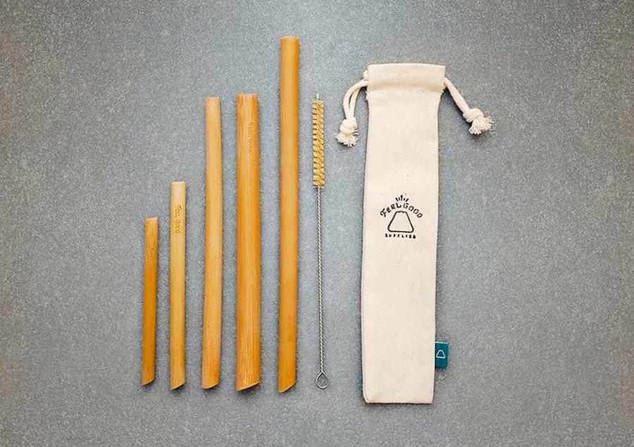 元氣竹吸管有準備各式尺寸,波霸珍珠也可以使用。(翻攝元泰竹藝社FB)