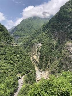 太魯閣山月吊橋驗收中 周邊景觀縫合工程預計年底完工