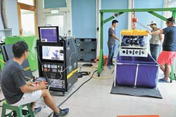 海生館智慧化 購進水下機器人