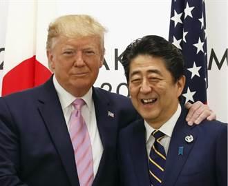 川普明言要日本多採購武器裝備