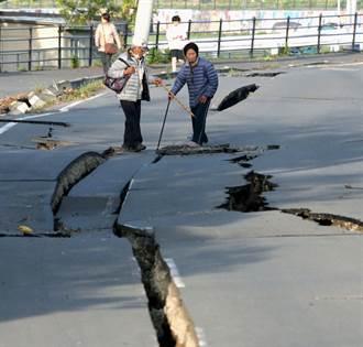 為何日本地震後公路會一條線裂開?
