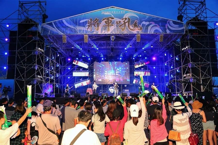 歷年夏日音樂節活動現場。(圖取自台南旅遊網)