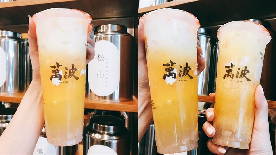 楊枝甘露將於6月28日 (五) 為期30天,售價 中杯65元/大杯75元 限定上市。(圖/邱映慈攝影)