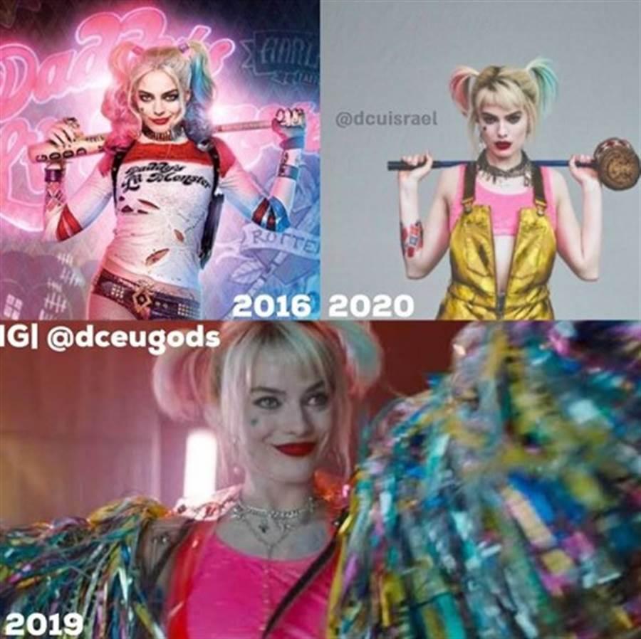 小丑女的造型演變圖。(圖/IG@dceugods)