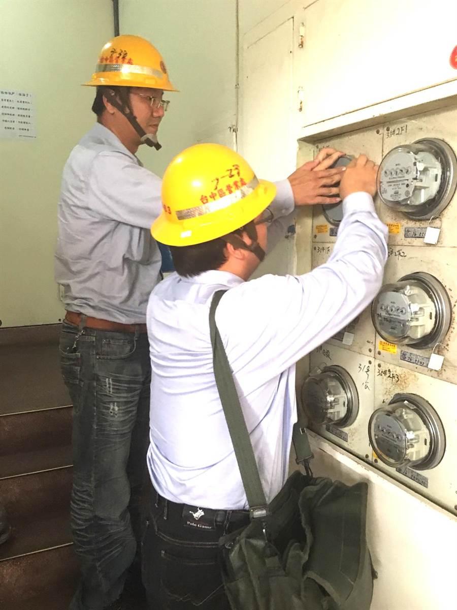 台中市日租套房大多分布於逢甲及一中商圈,同一地點遭市府查獲裁處兩次以上,就強制斷水斷電。(盧金足攝)