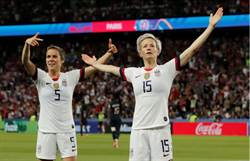 女足世界盃》嗆完川普FXXX 她進兩球助美進4強