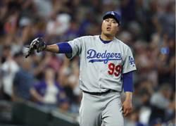 MLB》柳賢振周日復出 近3場爆掉只因3英寸