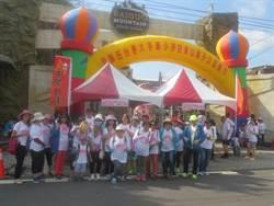 吃蜜餞和恐龍打招呼 用腳旺台灣百果山親子健行1200人熱情參與