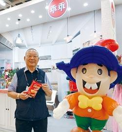 最快年底前推公仔系列文具及周邊 乖乖 要當台灣的Hello Kitty