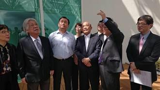 訪台南 蘇揆再轟韓國瑜要專心治好登革熱