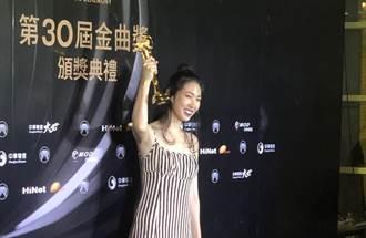 王若琳金曲衝上台見老爸一頭霧水 下台「驚覺傻眼」拿本屆大獎
