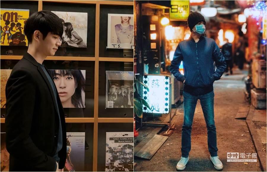 男星張行演出夯劇《是非》後走紅,近期更到了日本演出新一季的《深夜食堂》。(圖/經紀人提供)