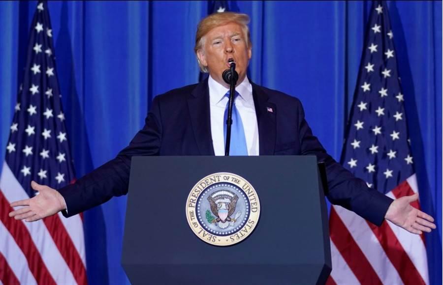 川普表示,他與中國大陸國家主席習近平有了一場很好的會議,並親口證實美中貿易談判正回歸正軌,且美企可繼續向華為銷售產品。(路透社)