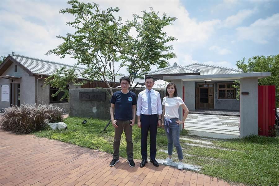 新竹市將軍村經1年多的修復後,「將軍村圖書資訊園區」29日正式開放。(陳育賢攝)