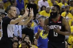 NBA》錯誤示範!哈登違反上海交規道歉