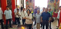 遊台東爭取民眾支持 蔡英文強調捍衛台灣自由