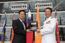 參謀總長李喜明上將今天屆齡卸任