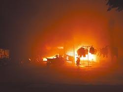 宿舍失火逃生 6外籍移工受傷