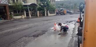 通過日本強震考驗 花蓮自來水管引進耐震接頭