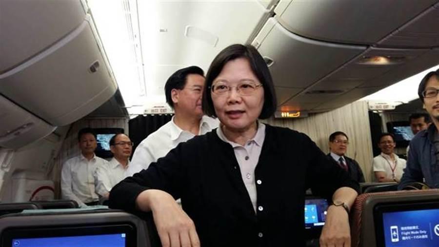 總統蔡英文 。 (圖/本報資料照、崔慈悌攝)