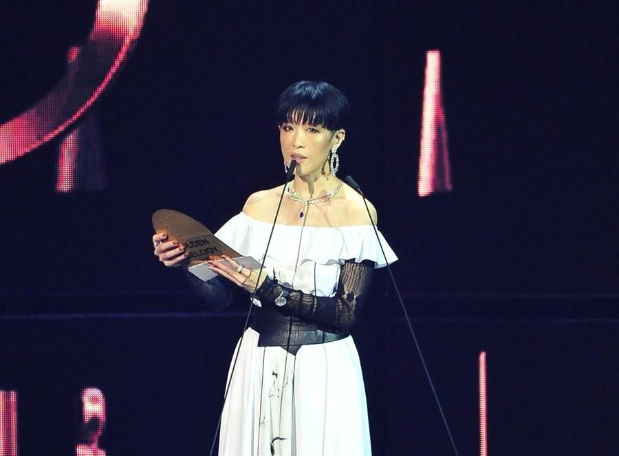 金曲30評審團主席陳珊妮。(台視提供)