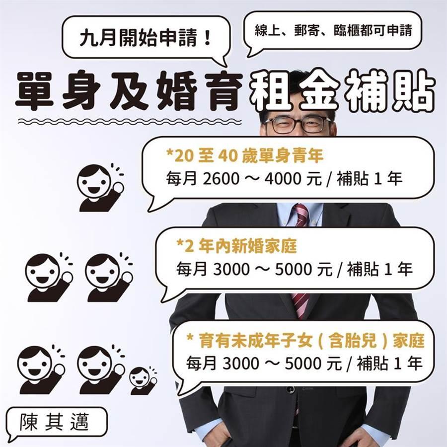 6月22日行政院副院長陳其邁臉書發的圖片截圖。(陳其邁臉書)