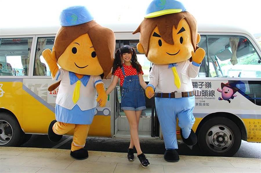 台灣好行針對自由行熱門景點,設立多條路線。(觀光局提供)