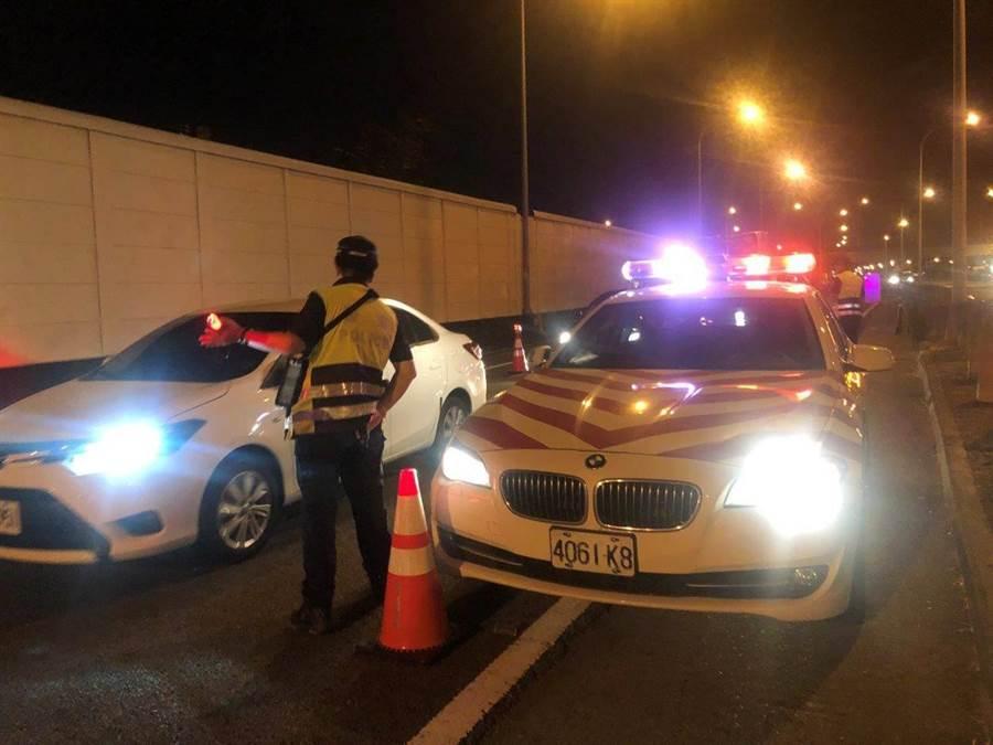 警政署規劃自7月1日至3日實施全國同步取締酒駕專案。(林郁平翻攝)