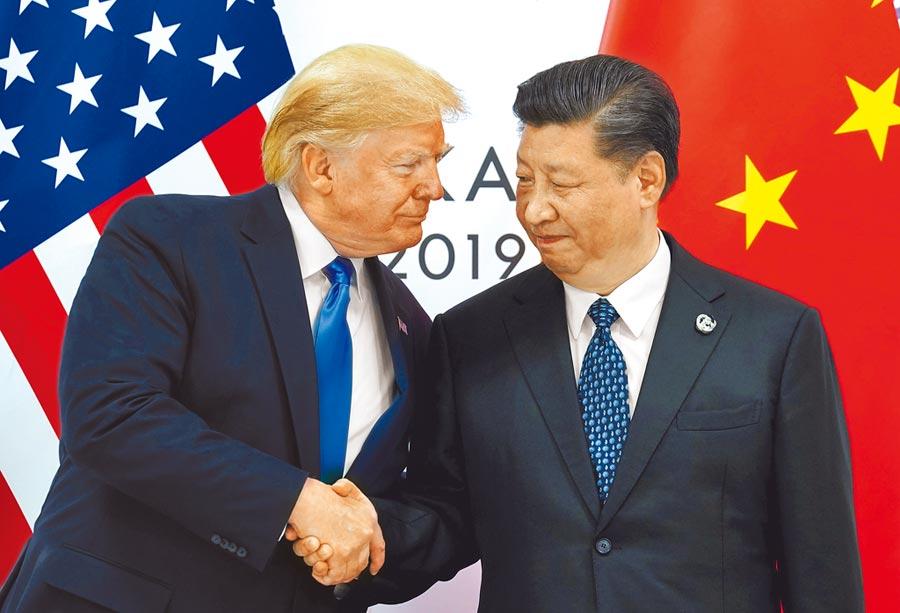 美國總統川普29日與大陸國家主席習近平會面,兩人再度達成貿易戰「停火協議」,也強調雙方關係十分良好。(路透)