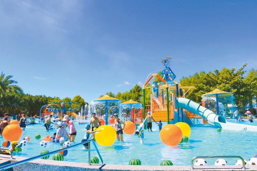 知卡宣綠森林公園玩水好去處。圖片提供花蓮縣政府