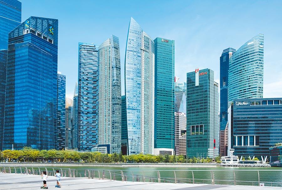 越南經濟規模十年後可望超新加坡,圖為新加坡濱海灣。(CFP)