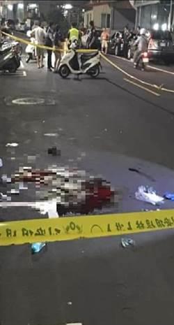 五股外籍男遭砍 身中數刀倒臥血泊