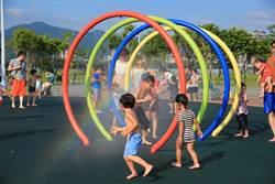 快樂Fun暑假!大佳河濱公園玩水、戲沙、盪鞦韆