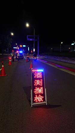 台北市警局酒駕首日加強酒測勤務
