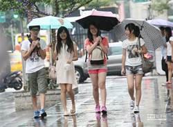 週二低壓帶挾雨襲南部 北部午後防豪雨