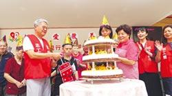 董座吳東亮與志工赴桃園聖愛教養院與院生同歡 台新金助陣 輔導社福團體自立