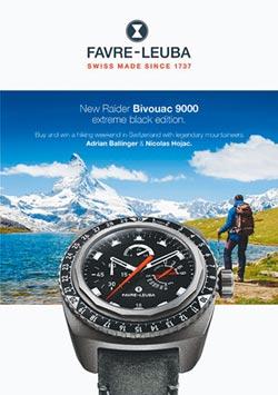 域峰表送你去瑞士 挑戰策馬特