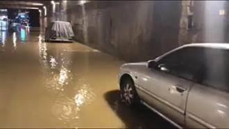 八堵路逢雨必淹 基市府斥資6千萬整治