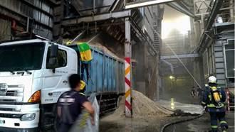 中市碾米工廠火警 一發不可收拾 2員工傷勢嚴重