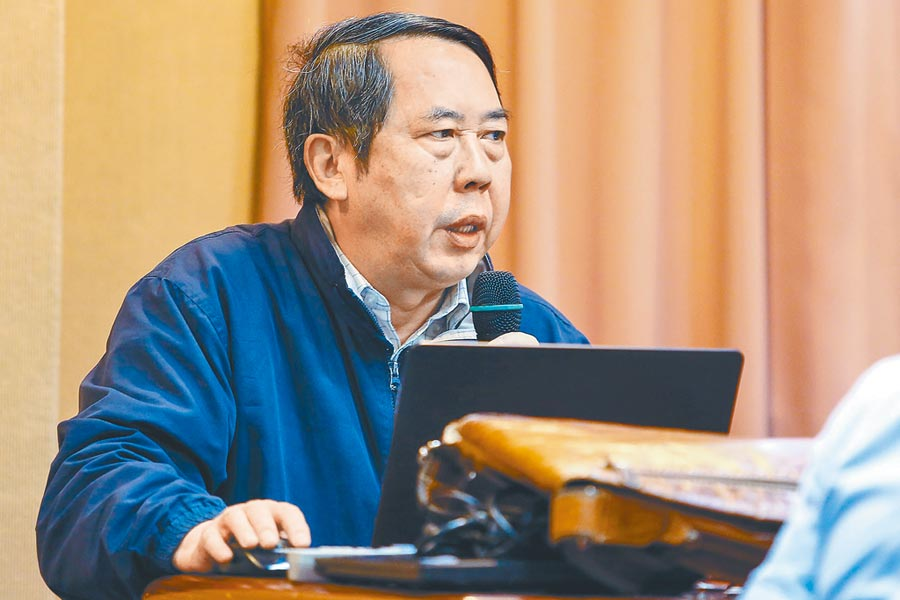 中國人民大學國關學院教授時殷弘。(本報系資料照片)