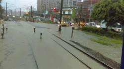 午後雷雨鶯歌新莊積水 鐵路停駛