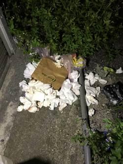 花蓮婦人紙袋棄嬰 下體滴血露餡 路人驚報案
