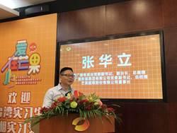 第五屆湖南廣電實習啟動  同學芒果拜師相見歡