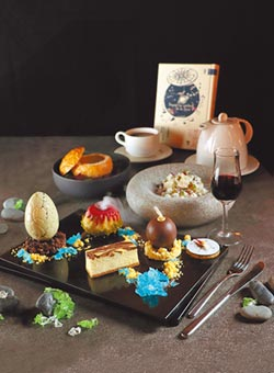 法式午茶文學風 味蕾導遊神祕地心