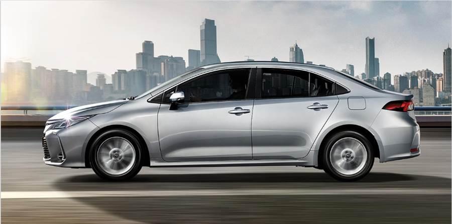 台灣6月新車銷量,TOYOTA Corolla Altis破3千輛奪冠。(翻攝自TOYOTA官網)